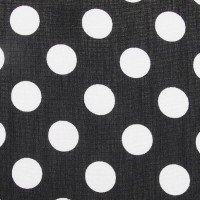 Radiance Digital- Polka Dots - col. 001 black