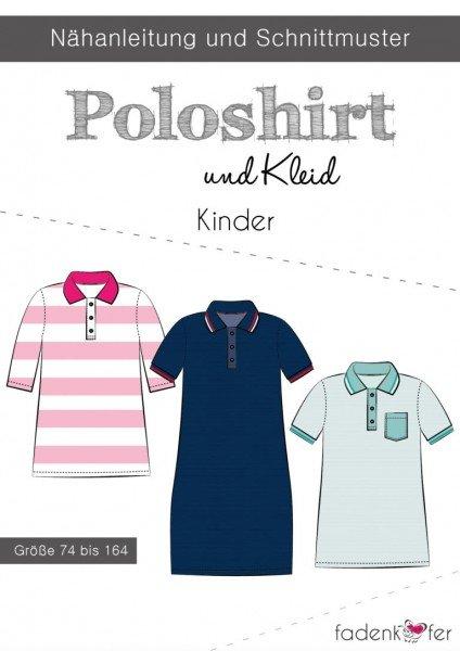 Fadenkäfer Schnittmuster Poloshirt und Kleid Kinder