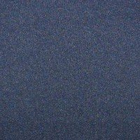 Glitter Jogging / French Terry - col. 014 navy meliert