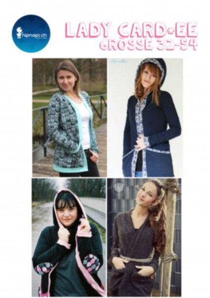 """Lady Card*ee"" Damen Cardigan - Gr. 32 - 54"