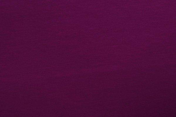 Jersey Baumwolle uni, bordeauxviolett