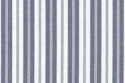 BW-Stoff Uppsala Streifen ecru-blau