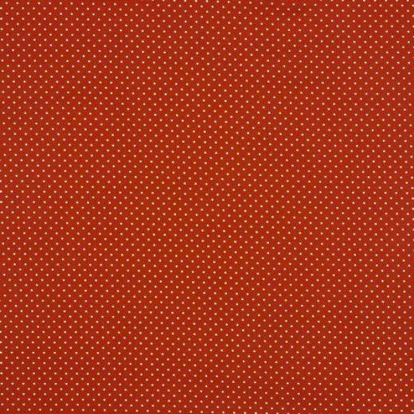 Baumwolle Design Petit Dots - col. 030 terra