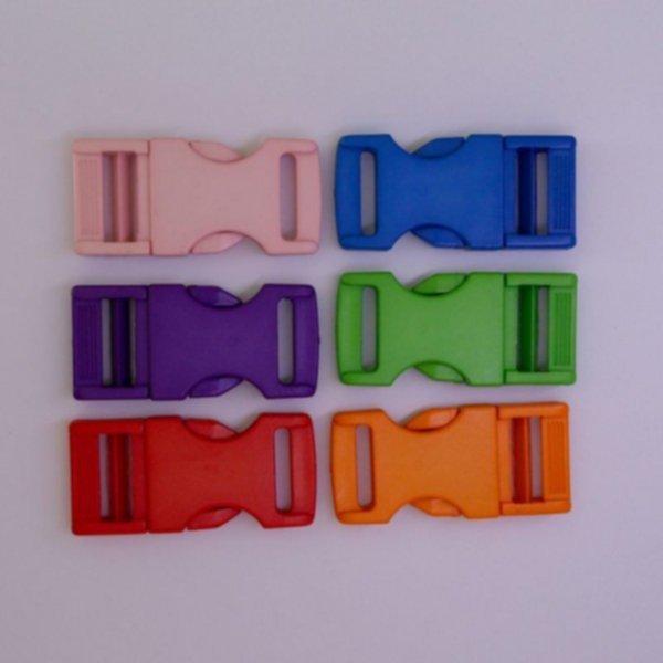Steckschnalle - 20mm - Farbig