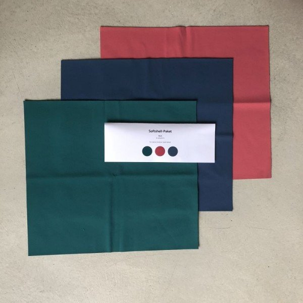 Softshell-Paket - Bunt