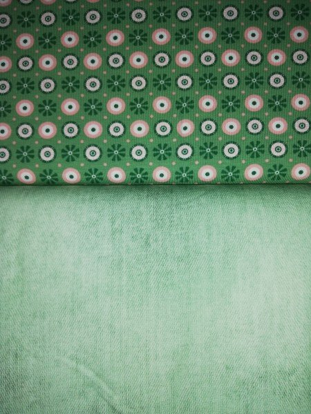 Staghorn Bio Jersey *Sommernachtstraum Serie* Jeans Optik Minty*