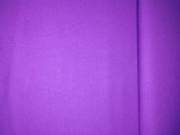 Jersey-Stretch uni gefärbt violett