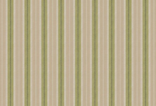 BW-Stoff Linz Streifen grün, beige