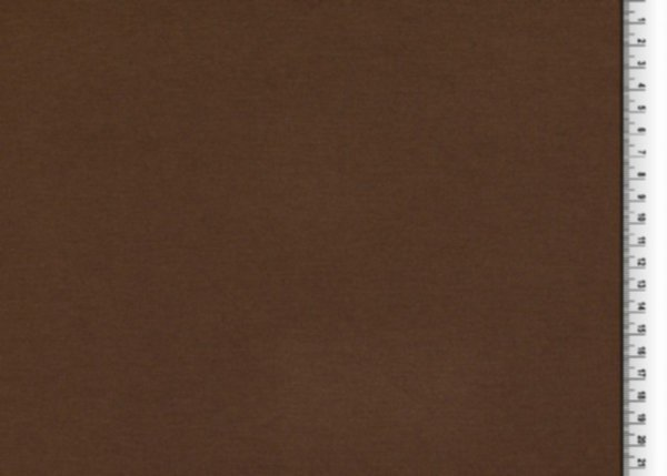 Ponte Roma (Romanit Jersey) uni, schokoladenbraun