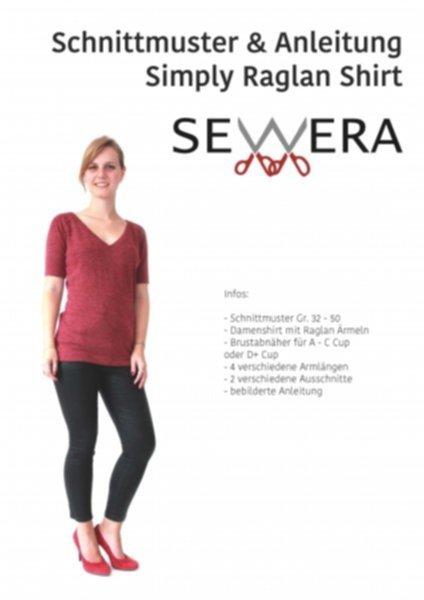 Simply Raglan Shirt by Sewera - Schnittmuster & Anleitung