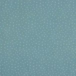 Double Gauze Design Little Dots - col. 032 aqua