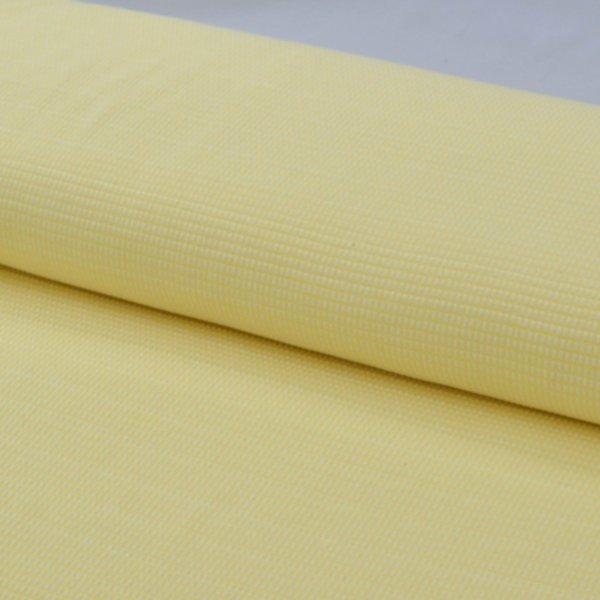 Jacquard Jersey Tiles Knit, meringa/giallo Hamburger Liebe (Albstoffe)