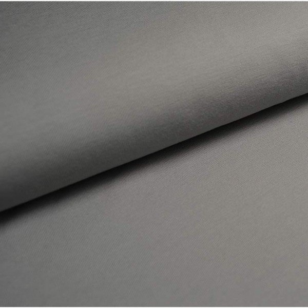 Jersey Uni 220 g/m² ca.150 cm col. 806 hellgrau
