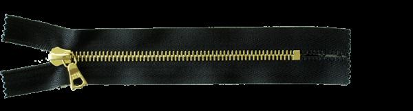 riri Metal 6 - Reissverschluss - GO Goldfarben - Meterware