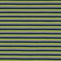 Jersey Design Stripes - col. 892 grau/admiralblau/lime