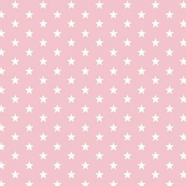 Baumwolle Design Petit Stars - col. 012 rose