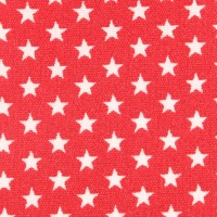 Baumwolle beschichtet Coated Petit Stars - col. 004 red