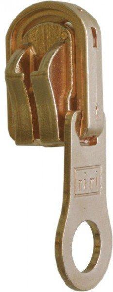 riri Metal 6 Schieber - Rund (für zweiseitigen Gebrauch)