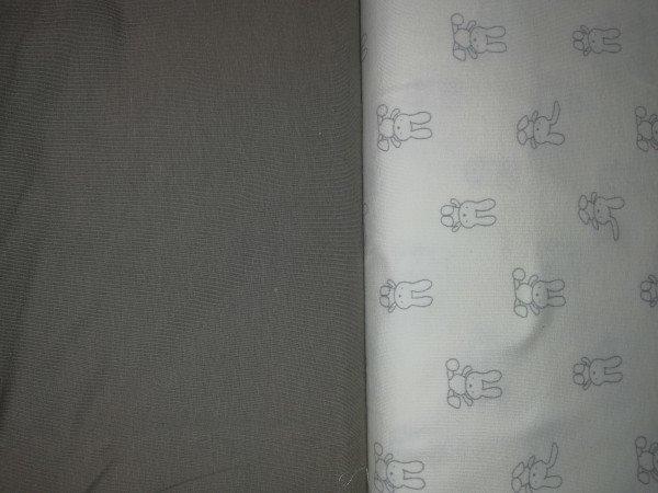 Jersey-Stretch uni gefärbt anthrazit