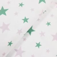 Jersey Sterne - col.671 flieder