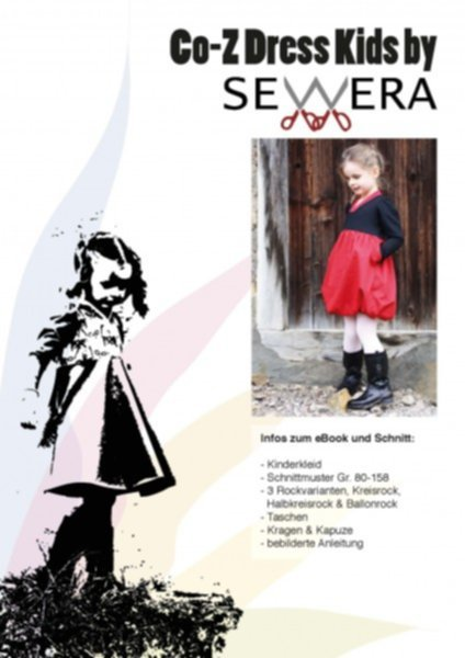 Co-Z Kids Dress Schnittmuster & Anleitung by Sewera