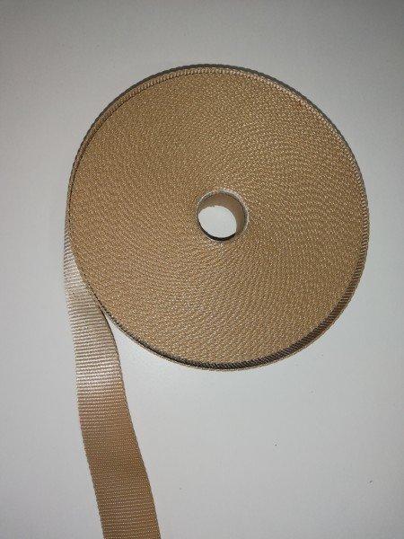 Taschengurtband 80% Polyamid/20% Polyester oliv 4cm