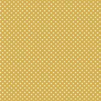 Jersey Design Pindots - col. 260 senf/weiß