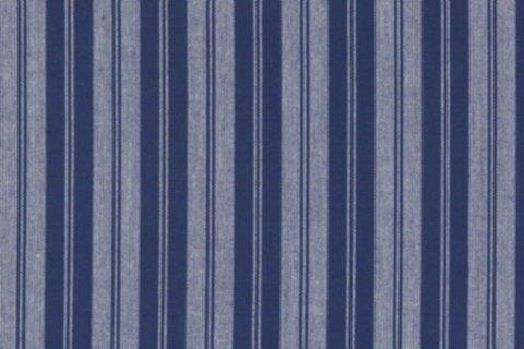 BW-Stoff Uppsala Streifen blaumeliert