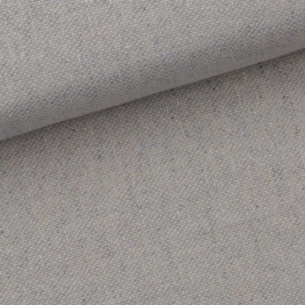 Canvas gewachst - Beige/Silber-métallisé