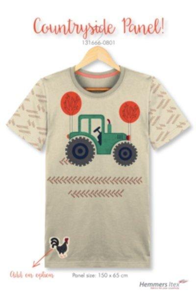 Jersey Baumwolle, Panel Traktor