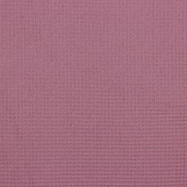 Waffel-Stoff - col. 015 mauve