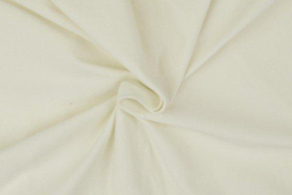 Jersey uni Baumwolle, eierschale