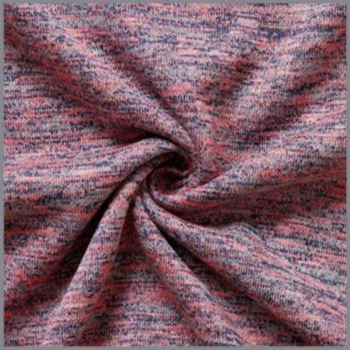 Feinstrick Double Knit Farbenspiel altrosa