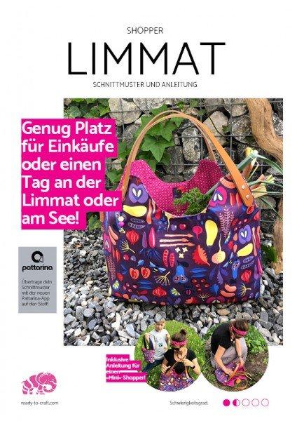 eBook & Anleitung Shopper LIMMAT - mit gratis Pattarina-Code!