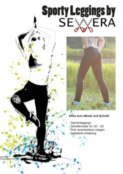 Sporty Leggings Schnittmuster & Anleitung by Sewera