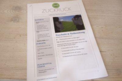 """Taschen-Rucksack """"Zuckruck"""""""