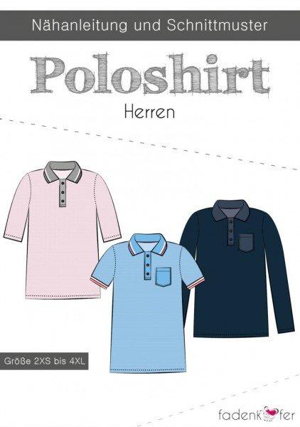 Fadenkäfer Schnittmuster Poloshirt Herren