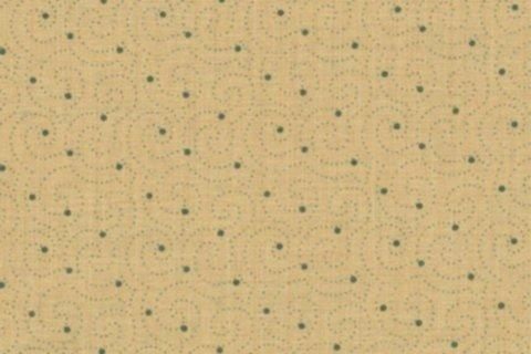 BW-Stoff Bozen Ringel Muster sand, grün
