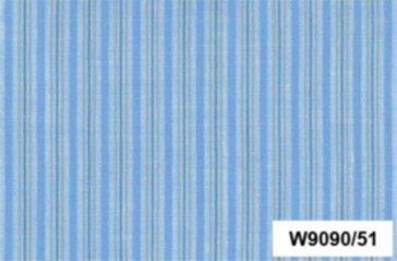 BW-Stoff Cambridge Streifen blau, beige