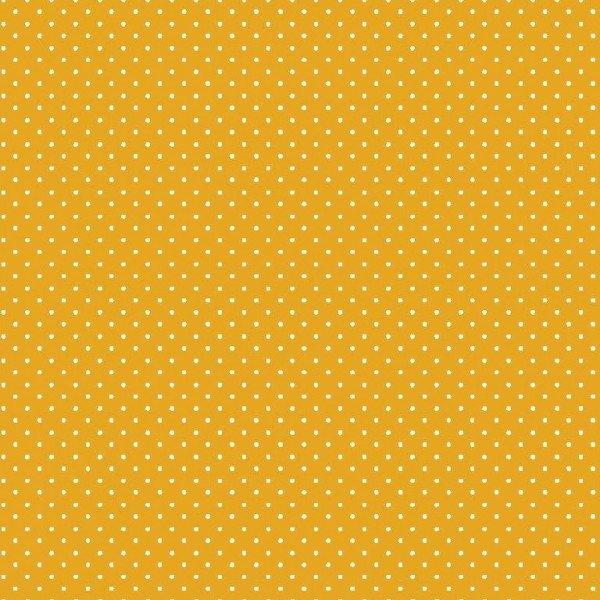 Baumwolle Design Petit Dots - col. 016 gelb
