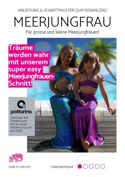 eBook Kleine & Grosse Meerjungfrau - mit gratis Pattarina Code!