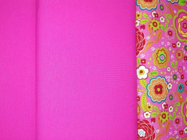 Jersey-Stretch uni gefärbt pink
